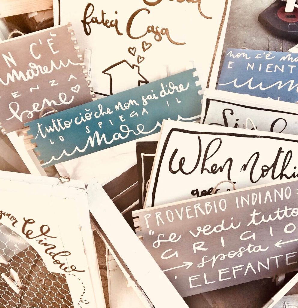 L'ideista - cassette e cartelli (4)