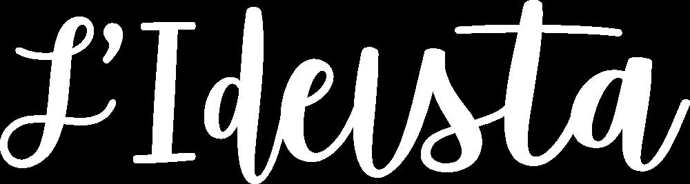 LIDEISTA-logo-testo white